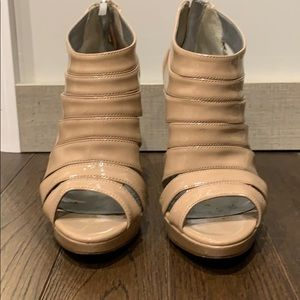 Guess brand cage heels
